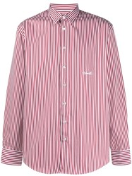 Frankie Morello Striped Relaxed Fit Cotton Shirt 60