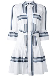 Derek Lam 10 Crosby Button Down Shirt Dress Women Cotton 6 White