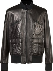 Neil Barrett Zipped Jacket Black