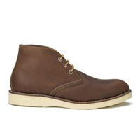 Red Wing Shoes Red Wing Men's Chukka Leather Boots Oro Iginal Tan