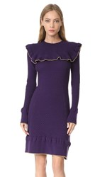 Philosophy Di Lorenzo Serafini Ruffle Dress Violet