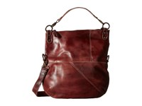 Bed Stu Tahiti Dark Scarlett Rustic Cross Body Handbags Brown