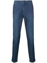 Fay Denim Chinos Blue