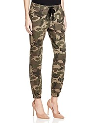 Warp And Weft London Camouflage Jogger Pants