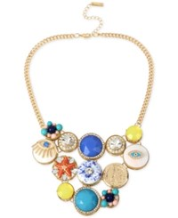 Inc International Concepts M. Haskell For Inc Gold Tone Decorative Disc Collar Necklace Only At Macy's