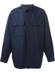 E. Tautz Terry Shirt Blue