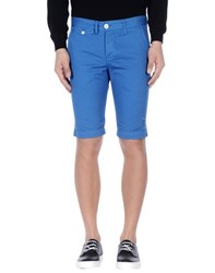 0 Zero Construction Trousers Bermuda Shorts Men Blue