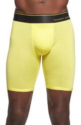 Men's Tommy John 'Second Skin' Boxer Briefs Aurora Yellow