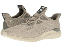 Adidas Alphabounce Em Tech Earth Clear Brown Crystal White Men's Running Shoes Beige