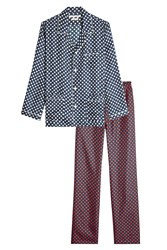 Marc Jacobs Polka Dot Silk Pajama Set