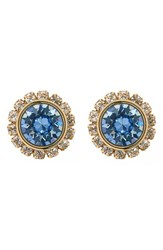 Women's Ted Baker London 'Crystal Daisy' Stud Earrings Pale Blue