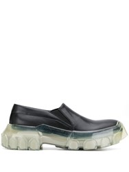 Rick Owens Chunky Sole Loafers Black