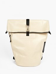 Eytys Raw Cotton Void' Waterproof Backpack White