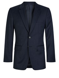 Aquascutum London Men's Frederick 3 Piece Suit Classic Fit Navy