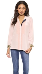 Paul Smith Black Label Silk Blouse Pink