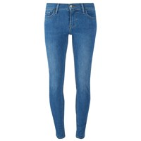 Levi's Women's 710 Flawlessfx Super Skinny Jeans Spirit Song Blue