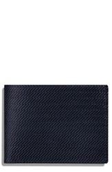 Shinola Men's Leather Wallet Blue Ocean