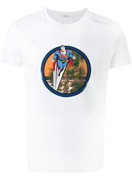 Iceberg Superman T Shirt White