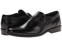 Steve Madden Cirka Black Leather Men's Slip On Shoes