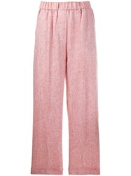 Peserico Elasticated Wide Trousers Neutrals