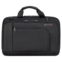 Briggs And Riley Verb Contact 15 Laptop Briefcase Black