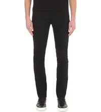 Givenchy Star Print Straight Jeans Black