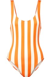Solid And Striped The Anne Marie Swimsuit Orange Gbp