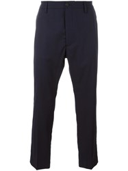 Pence Slim Fit Trousers Blue