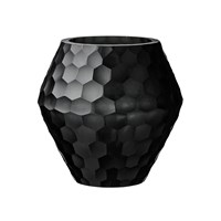 Day Birger Et Mikkelsen Honeycomb Handcut Glass Votive Black 15X15cm