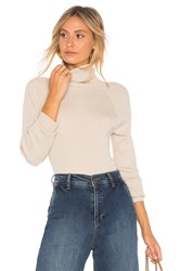 525 America Rib Turtleneck Cream