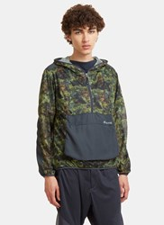 Snow Peak Insect Shield Camo Parka Jacket Green