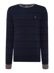 Duck And Cover Blissfield Knitwear French Navy