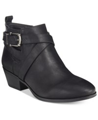 Styleandco. Style Co. Harperr Strappy Booties Only At Macy's Women's Shoes Black