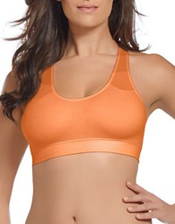 Jockey Seamfree Sporties Racerback Bra Soft Orange