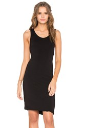 Feel The Piece Razor Tank Dress Black