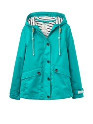 Joules Coast Waterproof Hooded Jacket Green