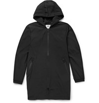 Reigning Champ Stretch Shell Hooded Sideline Jacket Black