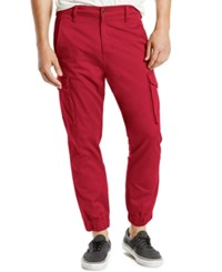 Levi's Cargo Jogger Pants Rio Red