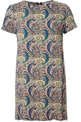 True Decadence Tunic Tee Dress Multi Coloured