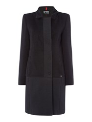 Pennyblack Aida Textured Block Colour Coat Black