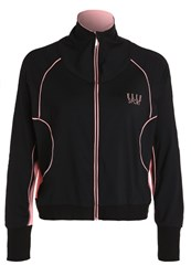 Elle Sports Tracksuit Top Midnight Dust Black