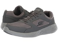 Skechers Performance Go Run 600 55085 Charcoal Shoes Gray