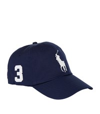 Ralph Lauren Big Pony Baseball Cap Navy
