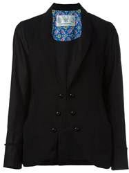 Tsumori Chisato Contrast Button Jacket Black