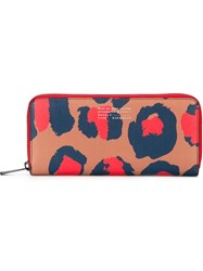 Marc By Marc Jacobs Animal Print Continental Wallet