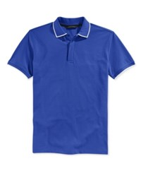 Sean John Men's Solid Core Polo Surf The Web