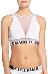 Calvin Klein Women's Fashion Bralette White
