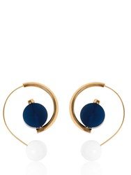 Marni Bicolor Horn Earrings