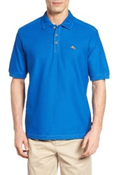 Tommy Bahama Men's Big And Tall 'The Emfielder' Pique Polo Cobalt Craze