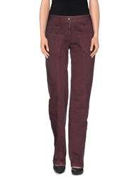 Ermanno Scervino Trousers Casual Trousers Women Maroon
